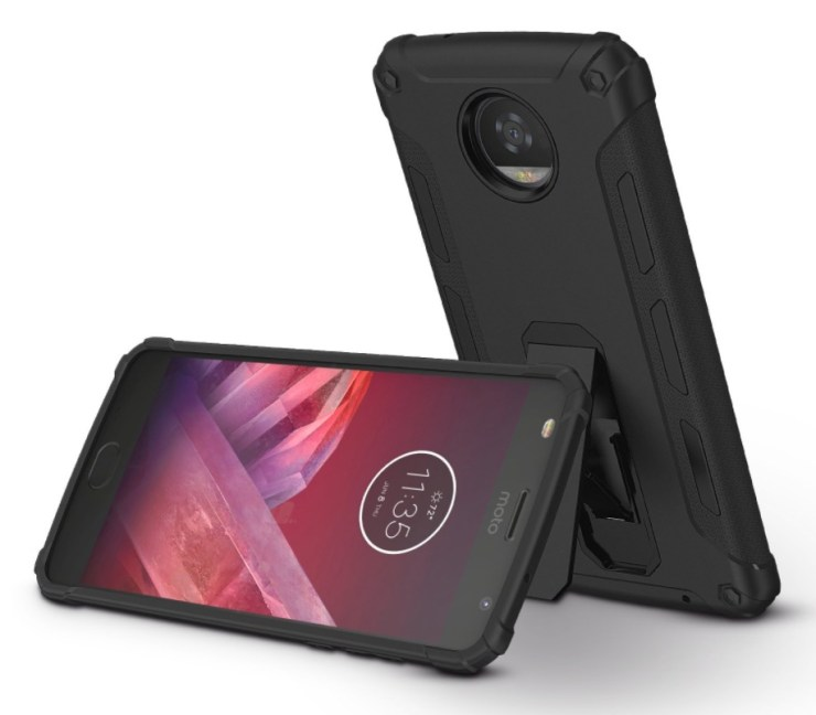 OMOTON Dual-Layer Kickstand Case