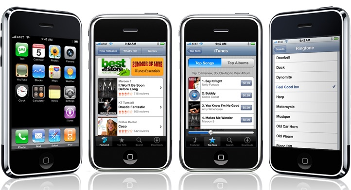 iPhone OS 1, aka iOS 1.