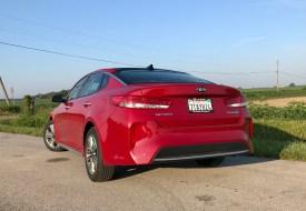 2017 Kia Optima Hybrid Review - 13
