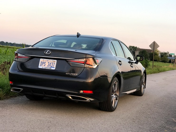 The 2017 Lexus GS 200t offers a comfortable ride with a little helping of sportiness.