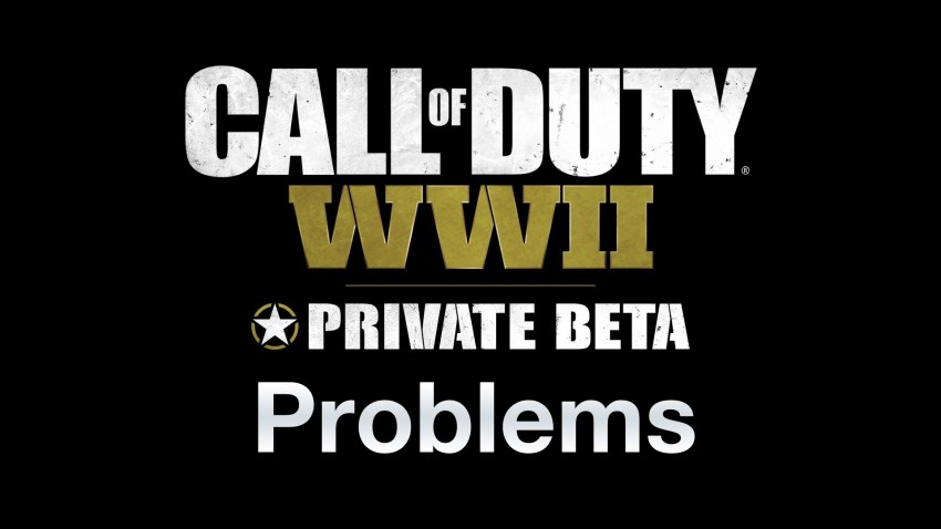 How to fix common Call of Duty: WWII beta problems.
