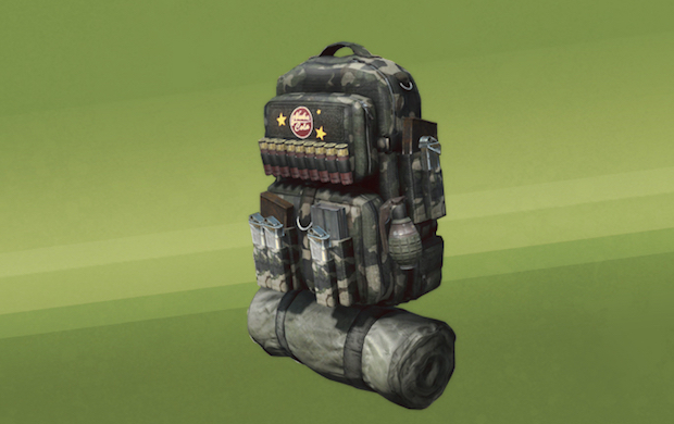 Modular Military Backpack: 400 Credits