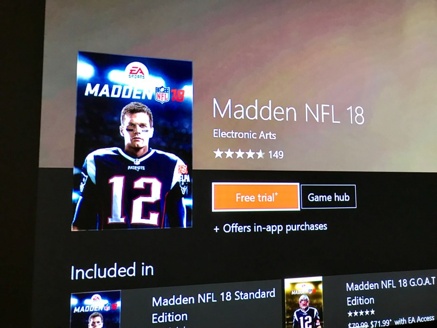 This is how you can play the EA Access Madden 18 trial right now.