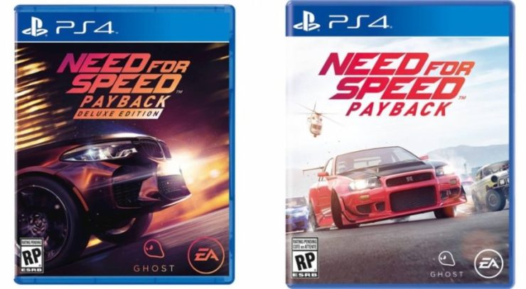 There Are Two Need For Speed Payback Editions