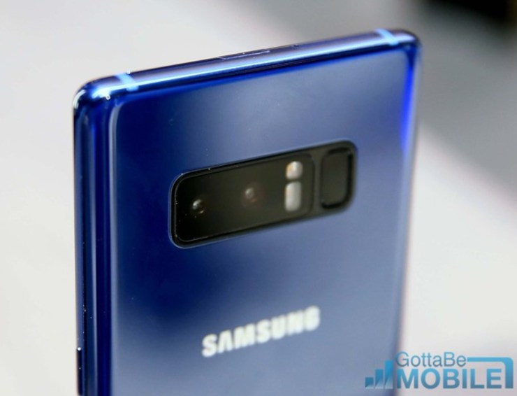 Galaxy Note 8 vs Galaxy S8+: Camera