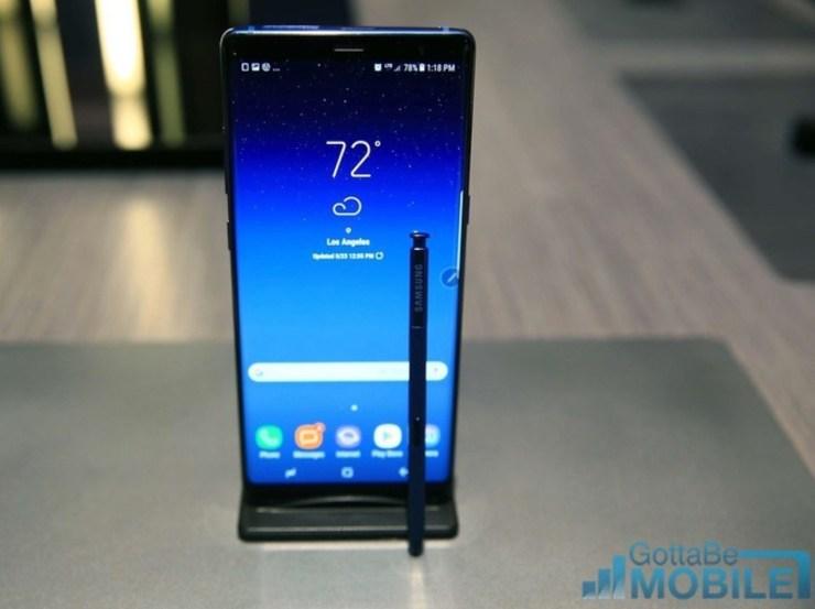Galaxy Note 8 vs Galaxy Note 5: Display