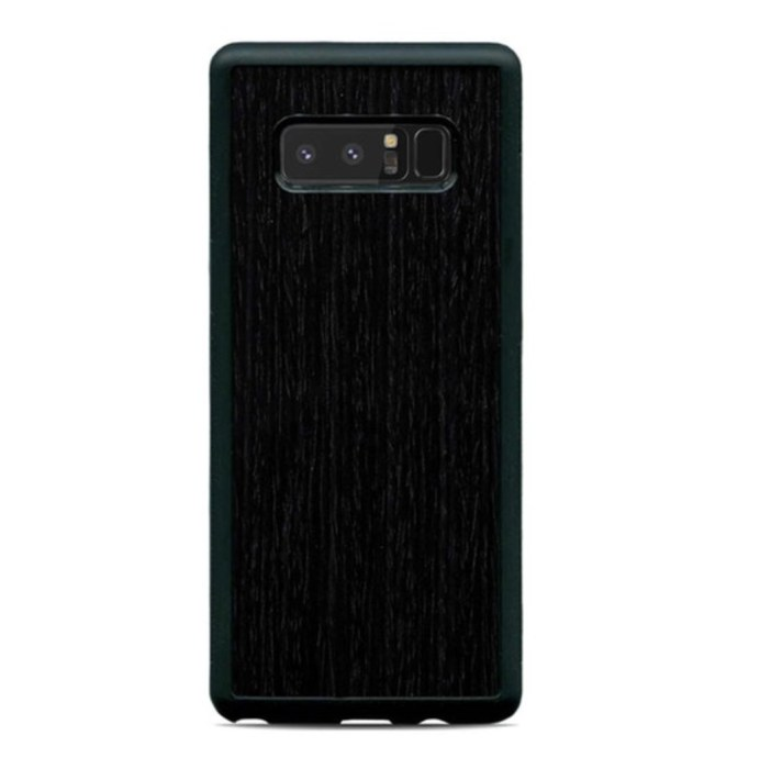 CARVED Real Wood Note 8 Case