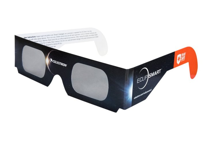 You can use these glasses to shield your phone camera to take pictures of the Eclipse.
