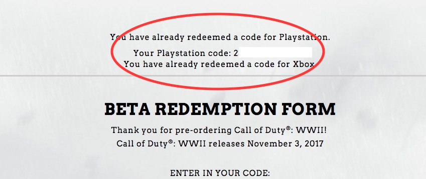 Where to find your Call of Duty: WWII beta token if it wasn't in your email.