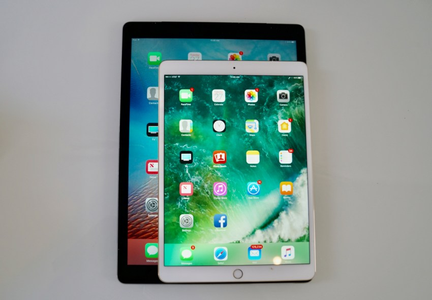 "iPad pro size comparison 10.5"" vs 12.9"""