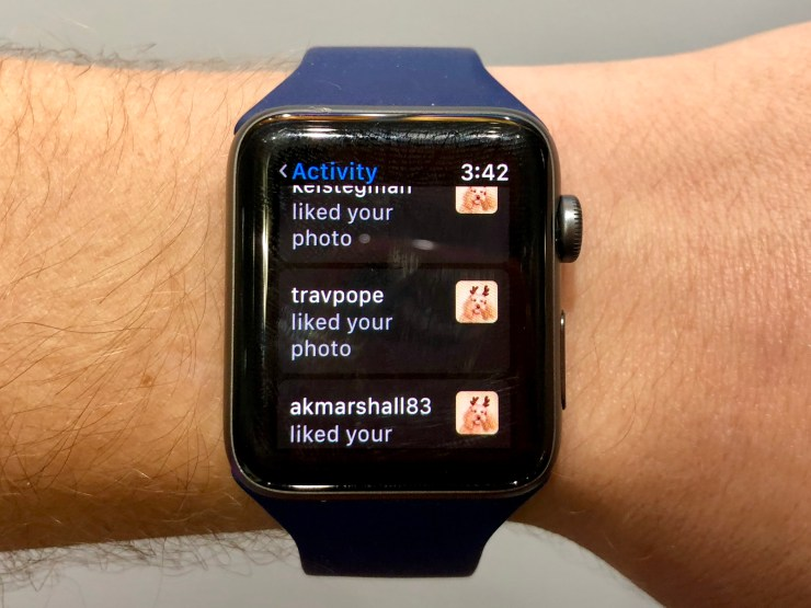 Check Out Instagram On Your Apple Watch