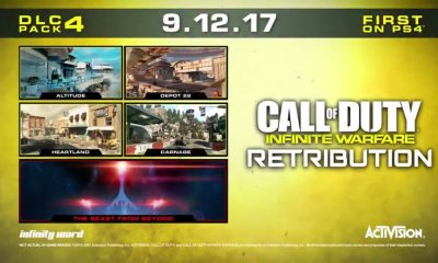 What you need to know about the Call of Duty: Infinite Warfare DLC 4 release date, maps and zombies.