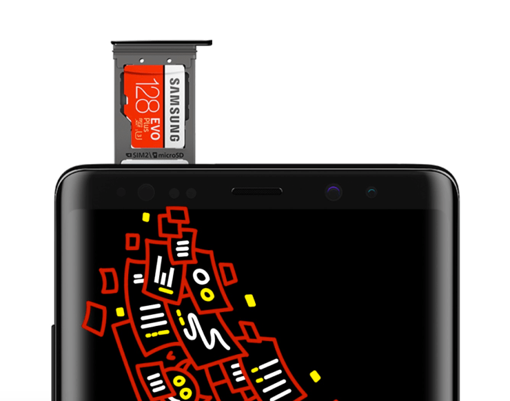 Best MicroSD Cards for the Galaxy Note 8