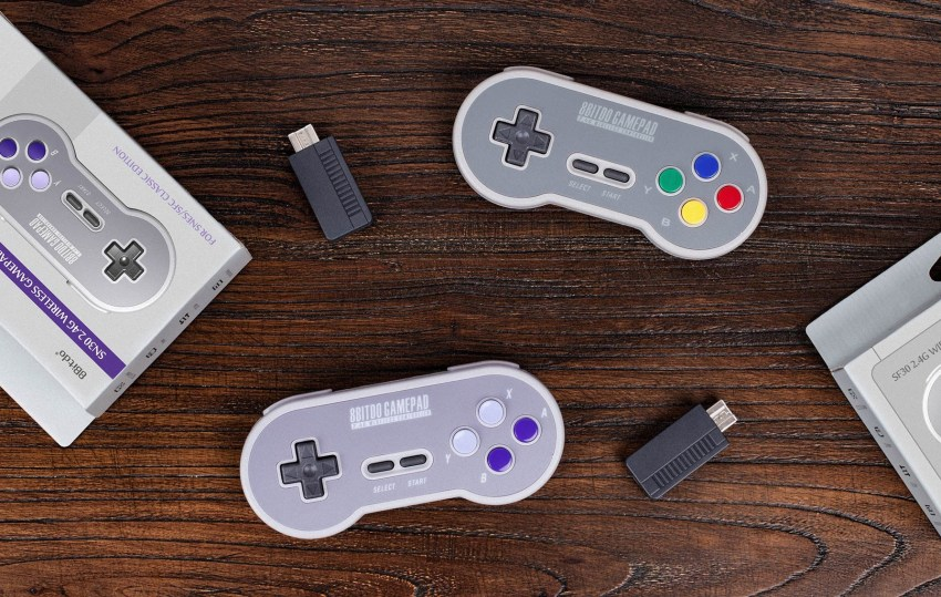 Wireless SNES Classic Controllers