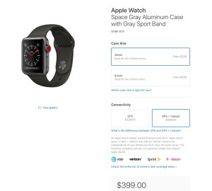 629fdfa430e The best pick is the Apple Watch Series 3 with GPS + Cellular