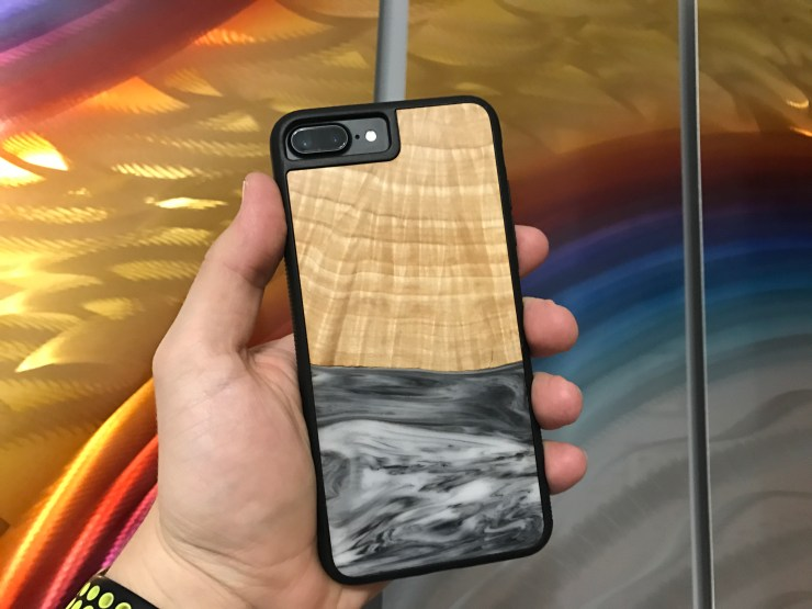 Carved Cases iPhone 8 Plus Wood Case