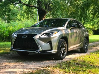 2017 Lexus RX 350 F Sport Review - 19