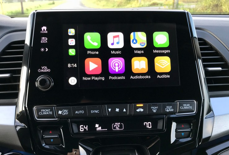 You get a lot of tech in the 2018 Honda Odyssey including CarPlay, Android Auto and a built-in hotspot.