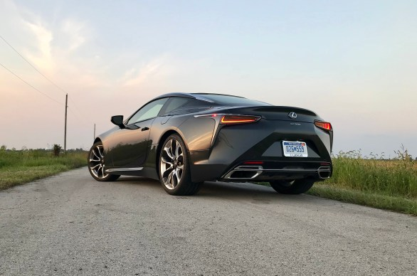 2018 Lexus LC 500 Review - 34