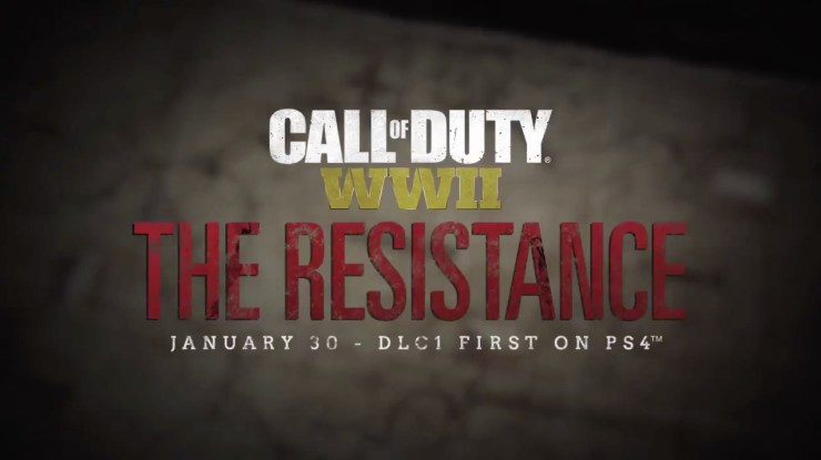 Call of Duty: WWII The Resistance Release Date