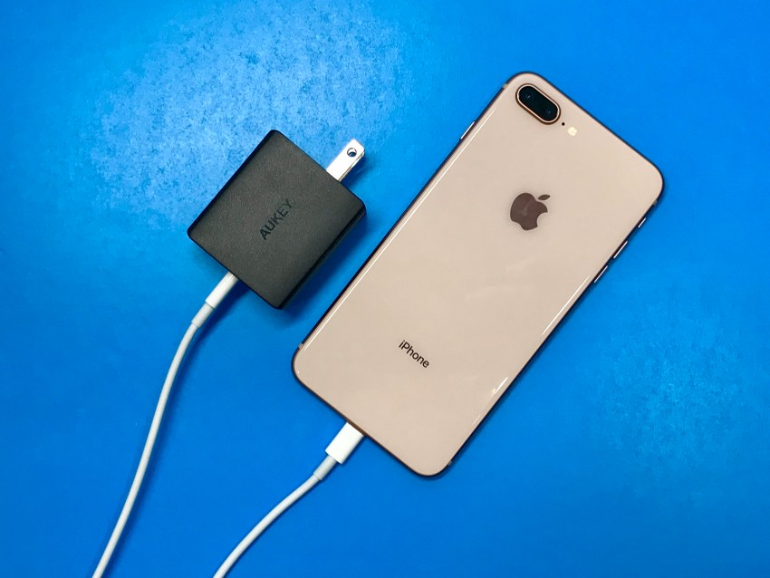 This is what you need to fast charge the iPhone 8 or iPhone 8 Plus.