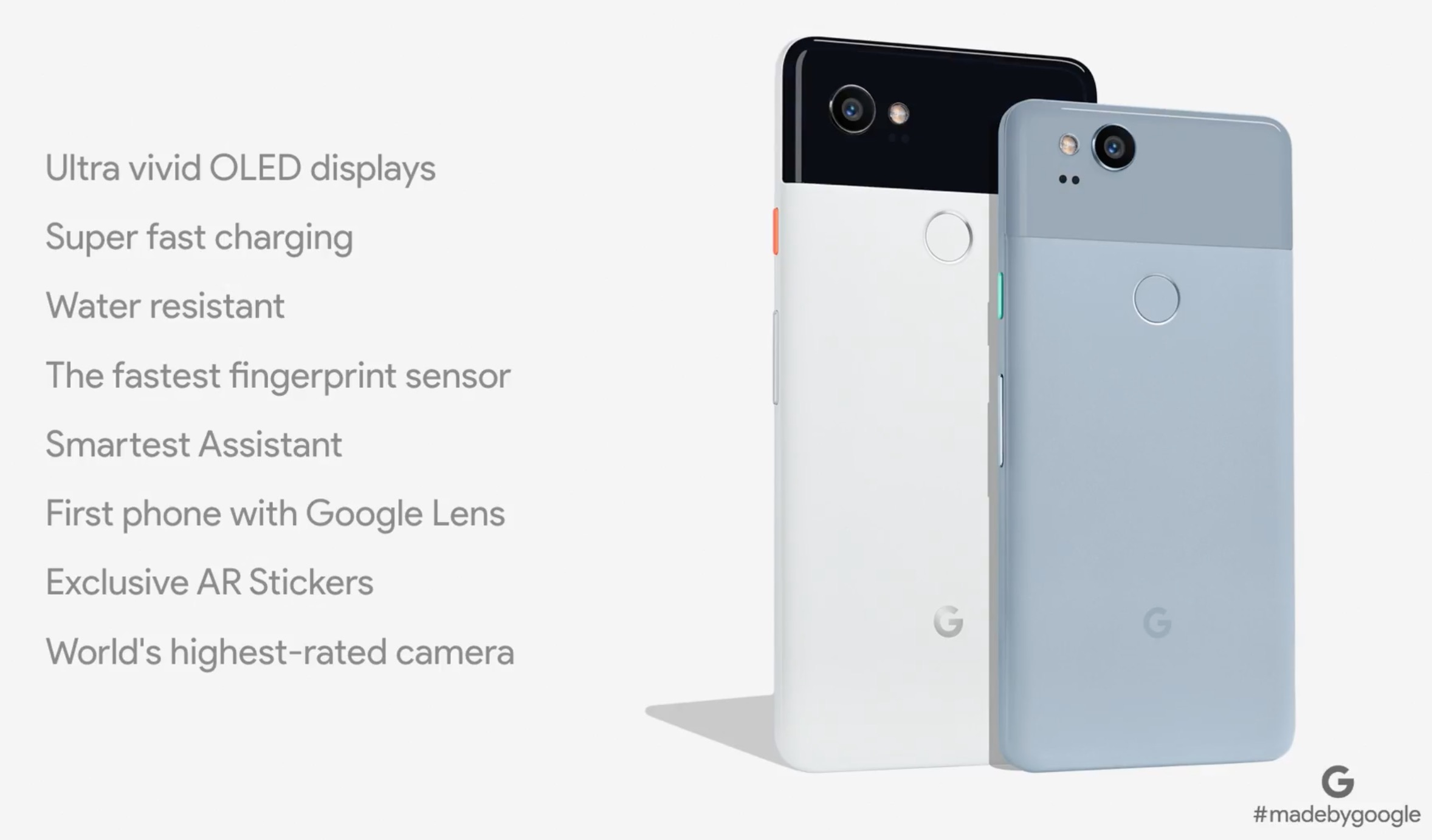 Google Pixel 2 and Pixel XL Smartphones are Android Flagships (2017)