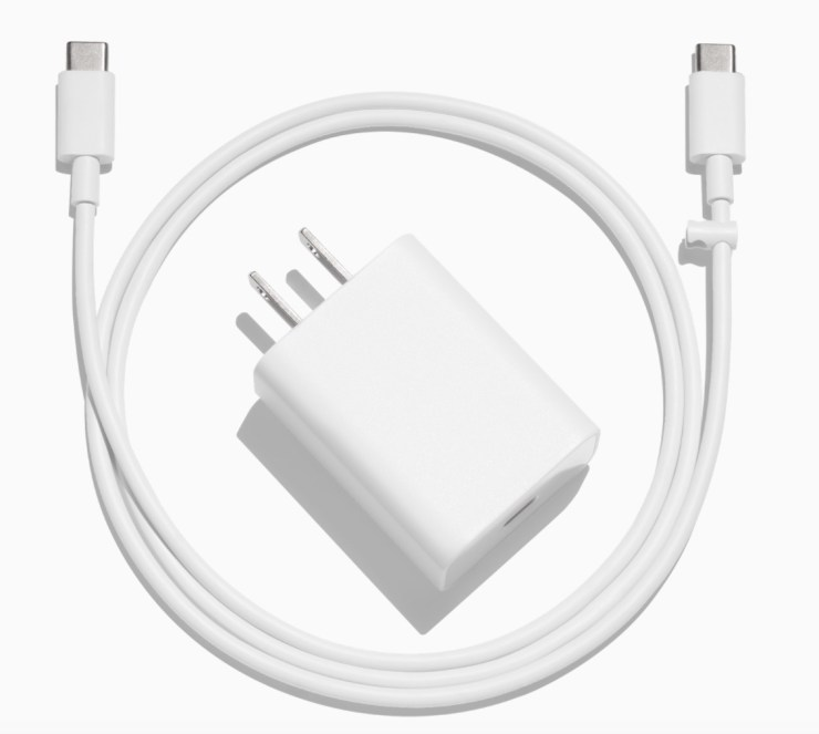 Google 18w USB Type-C Power Delivery Charger