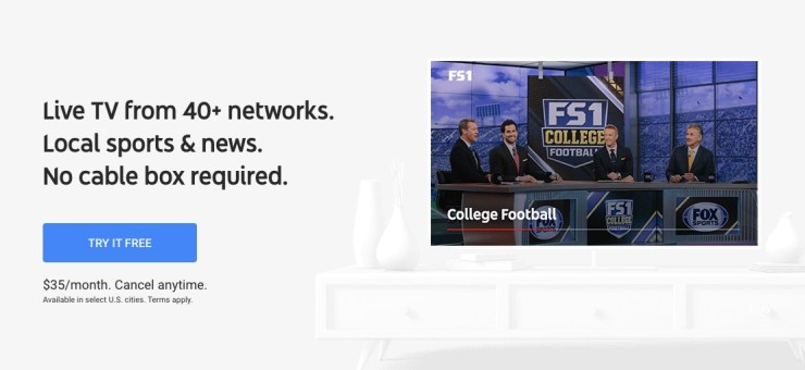 YouTube TV and Hulu Live TV are great options to watch without cable.