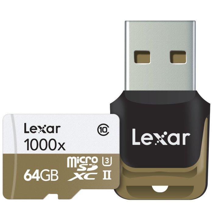 Lexar Professional 1000X MicroSD Card - $60.99