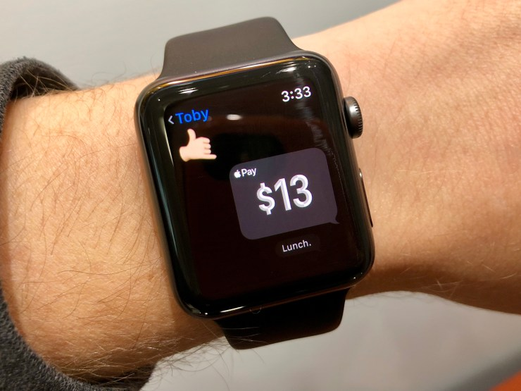 Send a Friend Money With Your Apple Watch