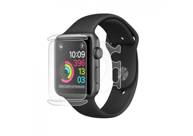 Bodyguardz makes the best clear Apple Watch skins.
