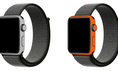 The best Apple Watch skins with the most color and texture options are from SlickWraps.