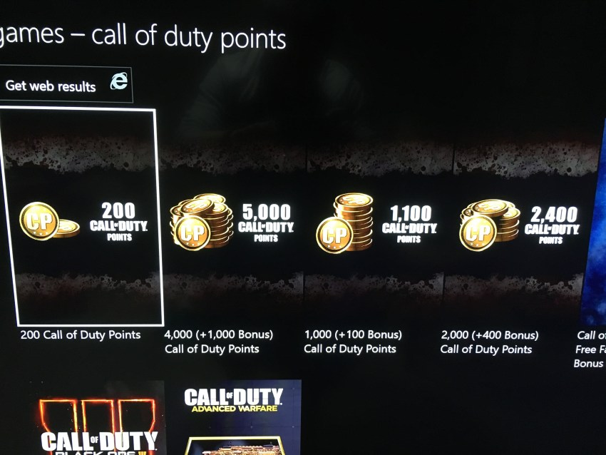 What you need to know about Call of Duty: WWII Call of Duty Points.