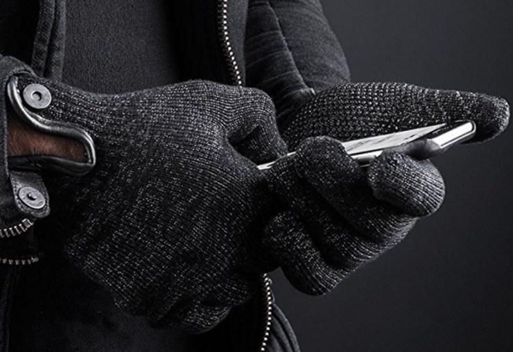 Mujjo Double-Layered Wool Gloves