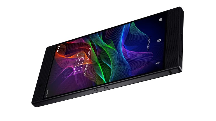Here are the Razer Phone software details.