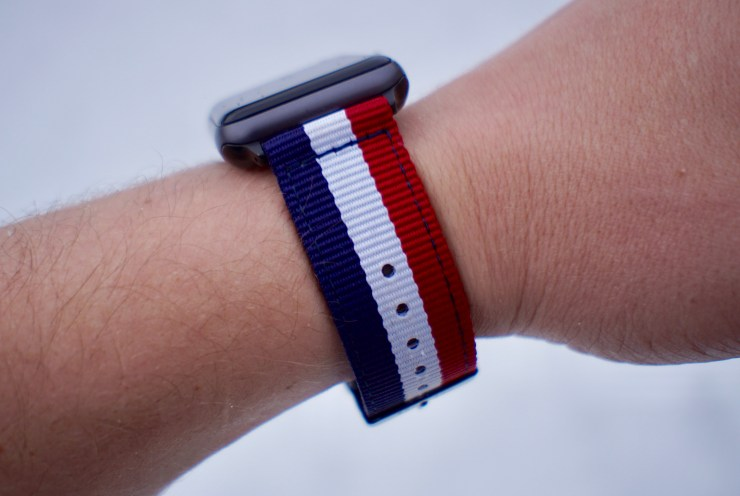 Awesome nylon Apple Watch bands.