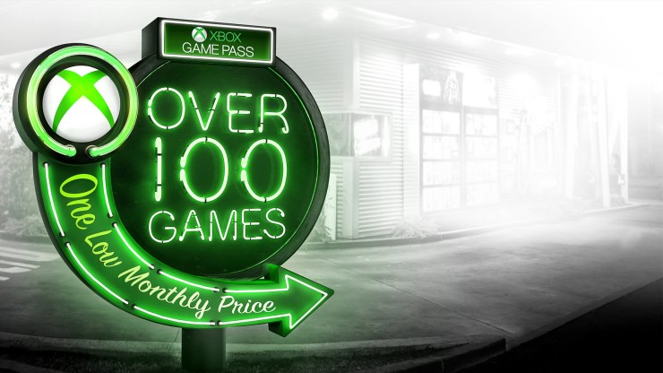 Here are the Xbox GamePass games.