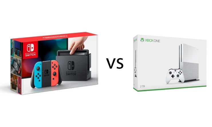 Nintendo Switch vs Xbox One S: Which Should You Buy?