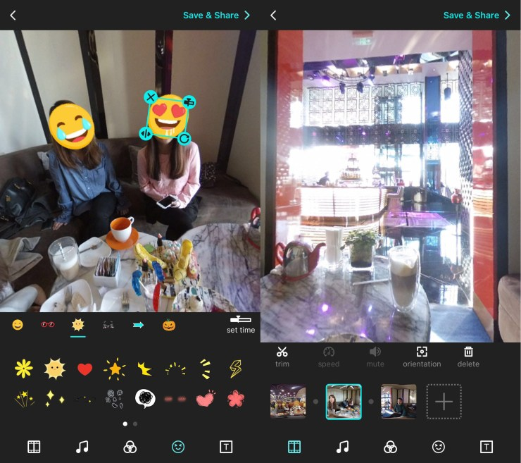 Use the Veer Editor to create 360 videos on your iPhone or Android.