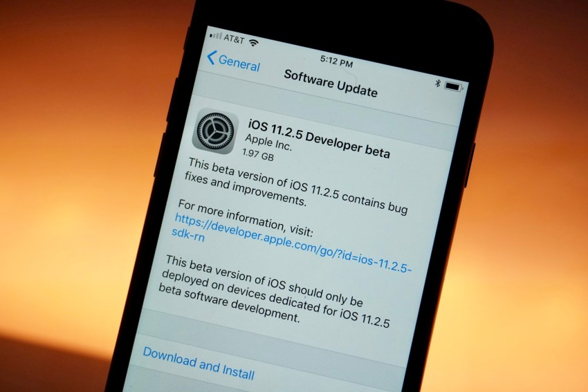 How Long Will the iOS 11.2.5 Update Take?