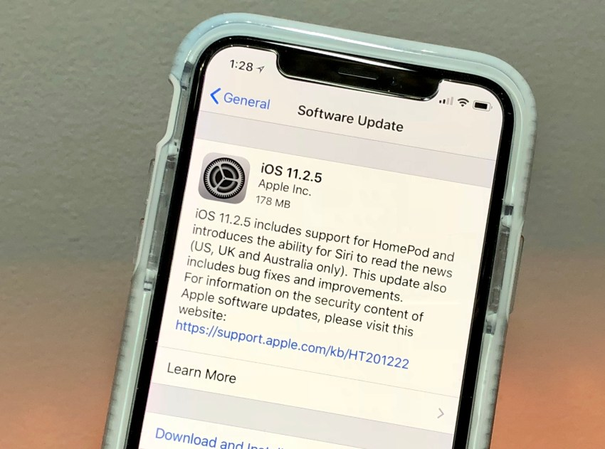 What's New in iOS 11.2 & iOS 11.2.5