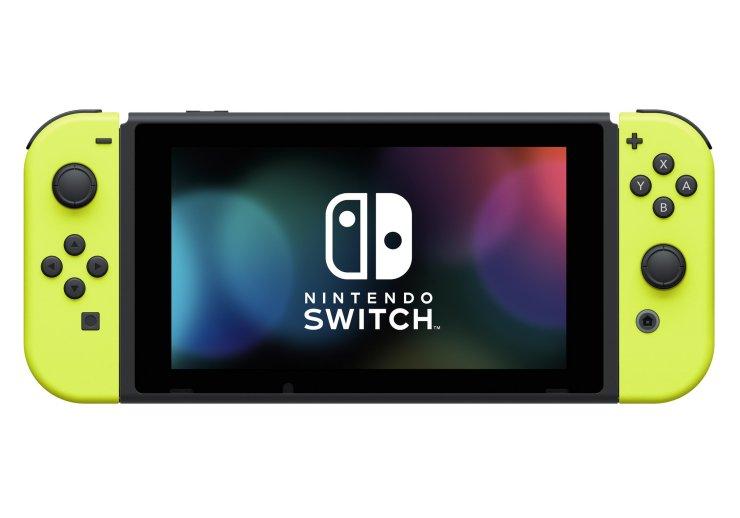 Nintendo Switch Neon Yellow Joy-Cons - $79.95