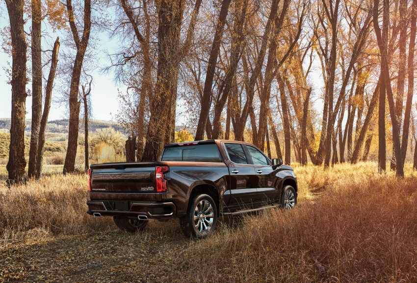 The all-new 2019 Silverado High Country is a luxury pickup with trim exclusive features.