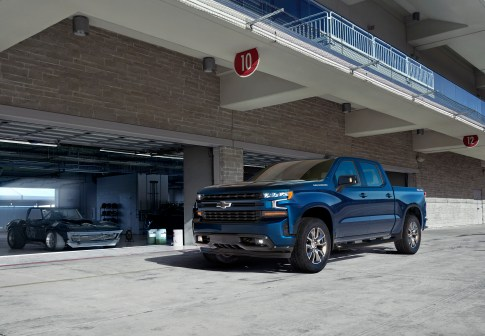 The all-new 2019 Silverado RST (new trim for 2019) brings a stre