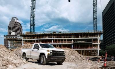 The all-new 2019 Silverado Work Truck.