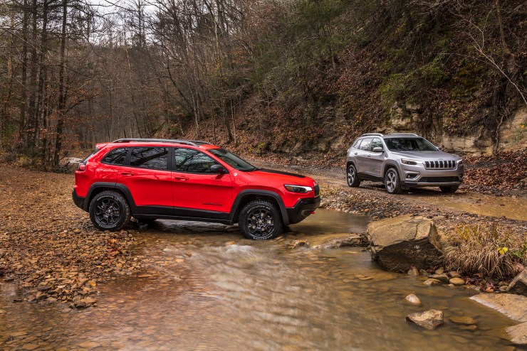 The 2019 Jeep Cherokee.