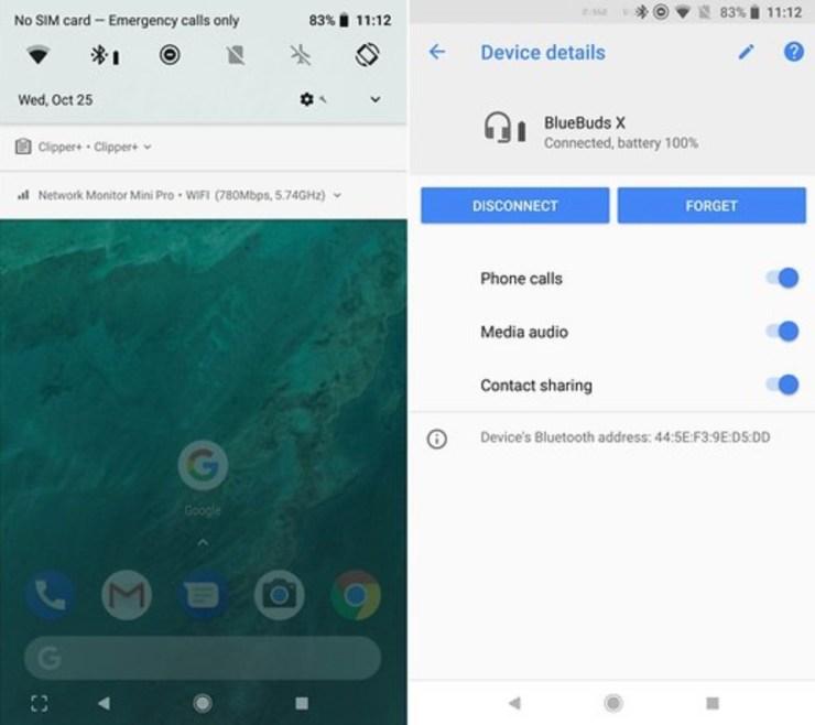 Bluetooth Battery Level & Info