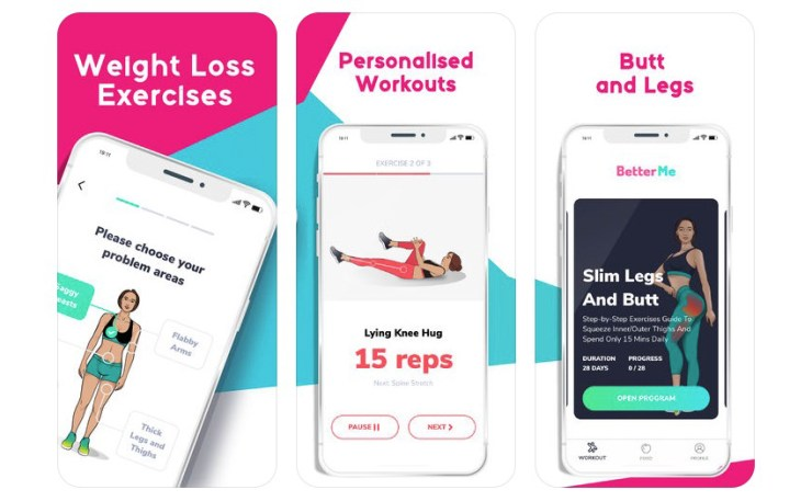 The BetterMe app is your tailored tool to lose weight.