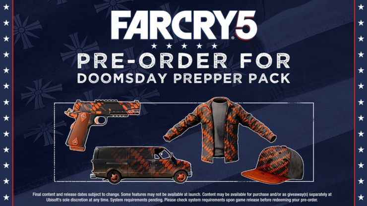 The standard edition comes with a pre-order bonus.