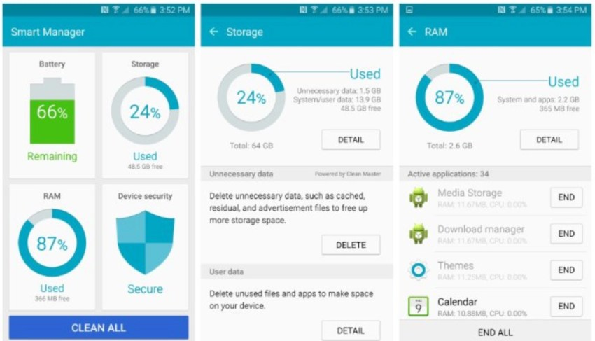 How to Free up Space on the Galaxy S6